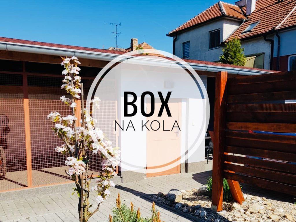 Ubytování Břeclav, na Zahradní - Box na kola